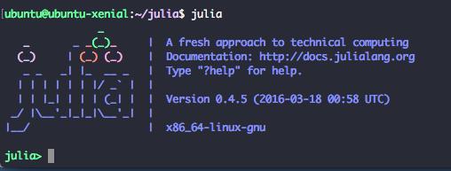 Julia Interactive Ubuntu 16.04