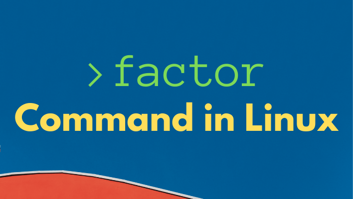 linux factor command