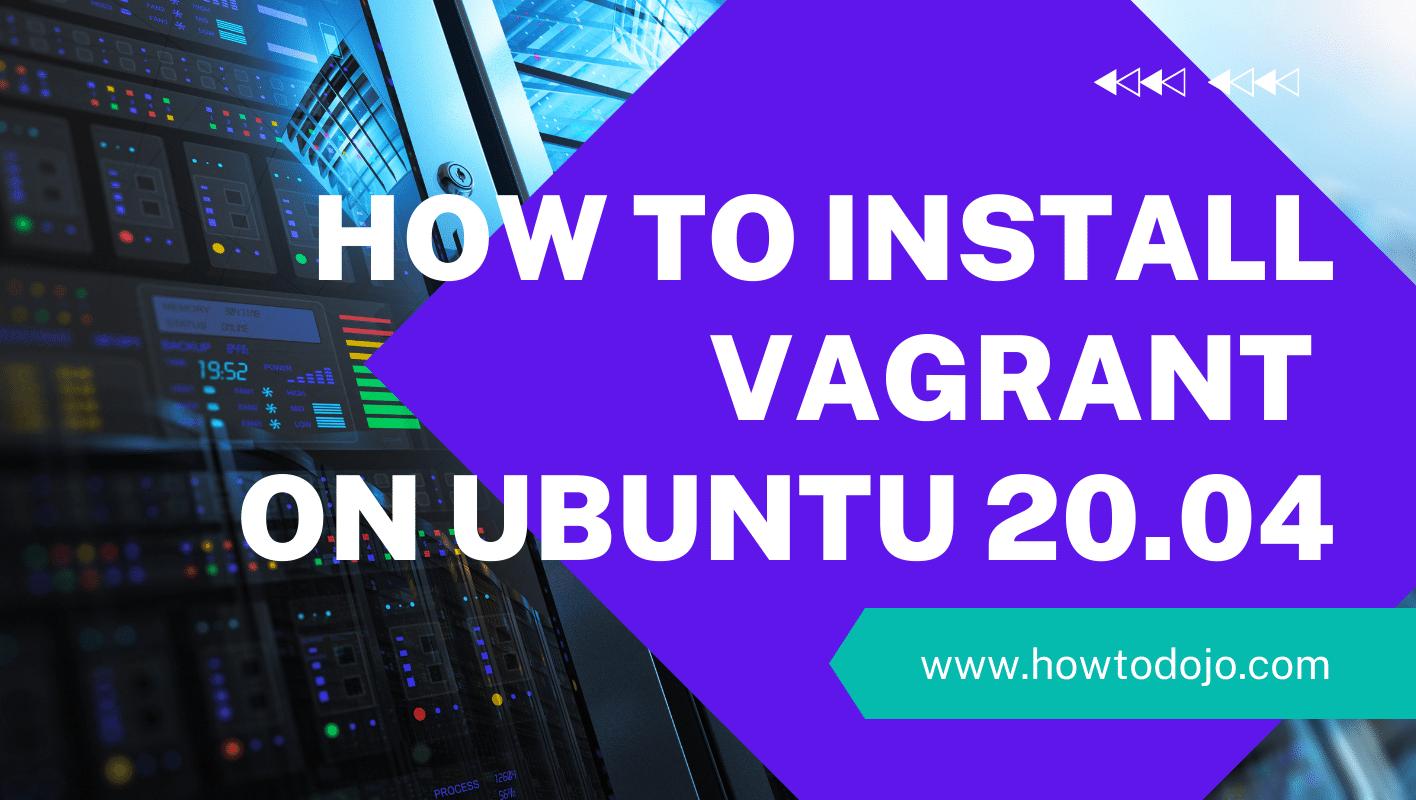 install vagrant ubuntu 20.04